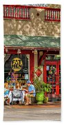Fat Hen Grocery - New Orleans Beach Towel