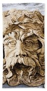 Father Time Beach Towel