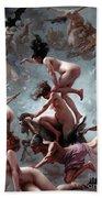 Faust's Vision Beach Towel by Luis Riccardo Falero