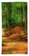 Favorite Path Beach Towel