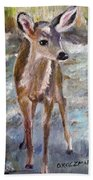Fawn Beach Towel