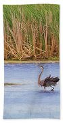 Feather Dance Beach Towel