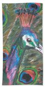 Feathered Splendor Beach Towel