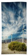 Feathers In The Sky Beach Towel
