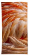 Feathers Of Pink Beach Towel