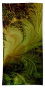 Feathery Fantasy Beach Towel