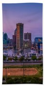 Federal Hill In Baltimore Maryland Beach Towel