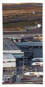 Fedex Express Fedex Ship Center At Oakland International Airport Beach Towel