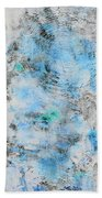 Feeling Deja Blue Beach Towel