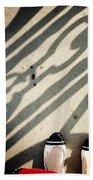 Feet Around The World #2 Beach Sheet