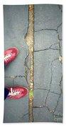 Feet Around The World #25 Beach Sheet