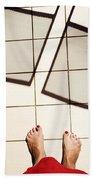 Feet Around The World #28 Beach Towel