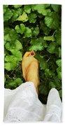 Feet Around The World #3 Beach Towel