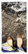 Feet Around The World #6 Beach Towel
