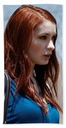 Felicia Day Beach Towel