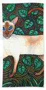 Felina And The Monarch Beach Towel