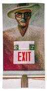 Fellini's Exit - Nola Beach Towel