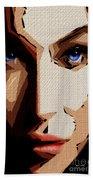 Female Expressions Lvi Beach Towel