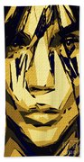 Female Expressions Xlvi Beach Towel