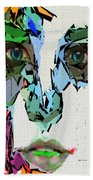 Female Expressions Xvii Beach Towel