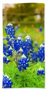 Fence Me In With Flowers Beach Towel