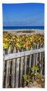 Fences On The Dunes Beach Towel