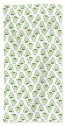 Fennel Foeniculum Vulgare Pattern. Beach Towel