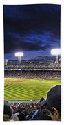 Fenway Night Beach Towel