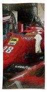 Ferrari 156/85 Beach Towel