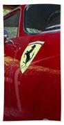 Ferrari 250 Gt Beach Towel