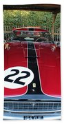 Ferrari 250 Gt Tour De France Beach Towel