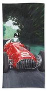Ferrari 375 F1 Beach Towel