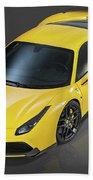 Ferrari 488 Beach Towel