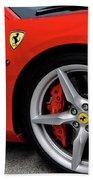 Ferrari 488gtb Beach Towel