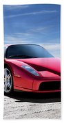 Ferrari Enzo Beach Towel