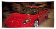 Ferrari F430 - The Red Beast Beach Towel