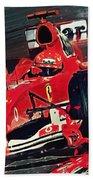Ferrari - Michael Schumacher  Beach Towel