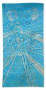 Ferris Sketch Beach Towel