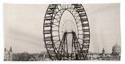 Ferris Wheel, 1893 Beach Towel
