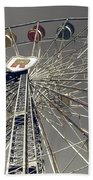Ferris Wheel 5 Beach Towel
