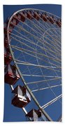 Ferris Wheel Iv Beach Towel