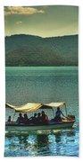 Ferry - Lago De Coatepeque - El Salvador Beach Towel