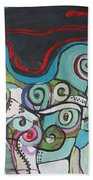 Fiddleheads 5 Beach Towel