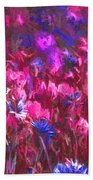 Field Of Dreams Abstract Beach Towel