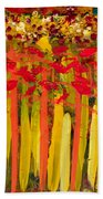 Field Of Flowers Beach Towel