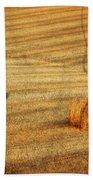 Field Of Gold #3 Beach Towel