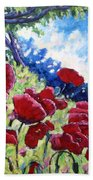 Field Of Poppies 02 Beach Towel