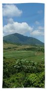 St. Kitts Fields Of Cane Beach Towel