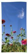 Fields Of Glory Beach Towel by Valeria Donaldson