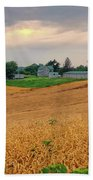 Fields Of Gold, Illinois Beach Towel